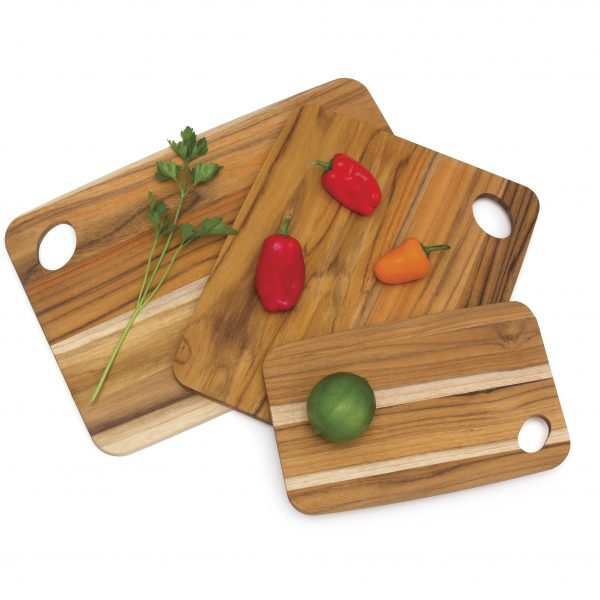 Teak Cutting and Serving Boards